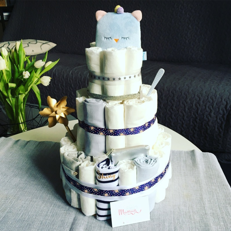 Diaper cake FrenchMaman