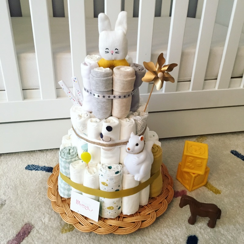 diapercake miel lapin